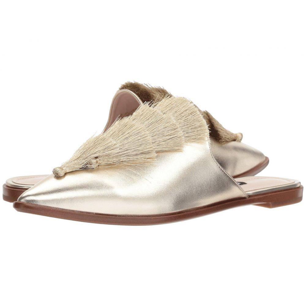 ナインウェスト Nine West レディース サンダル・ミュール シューズ・靴【Ollial Mule】Light Gold Synthetic