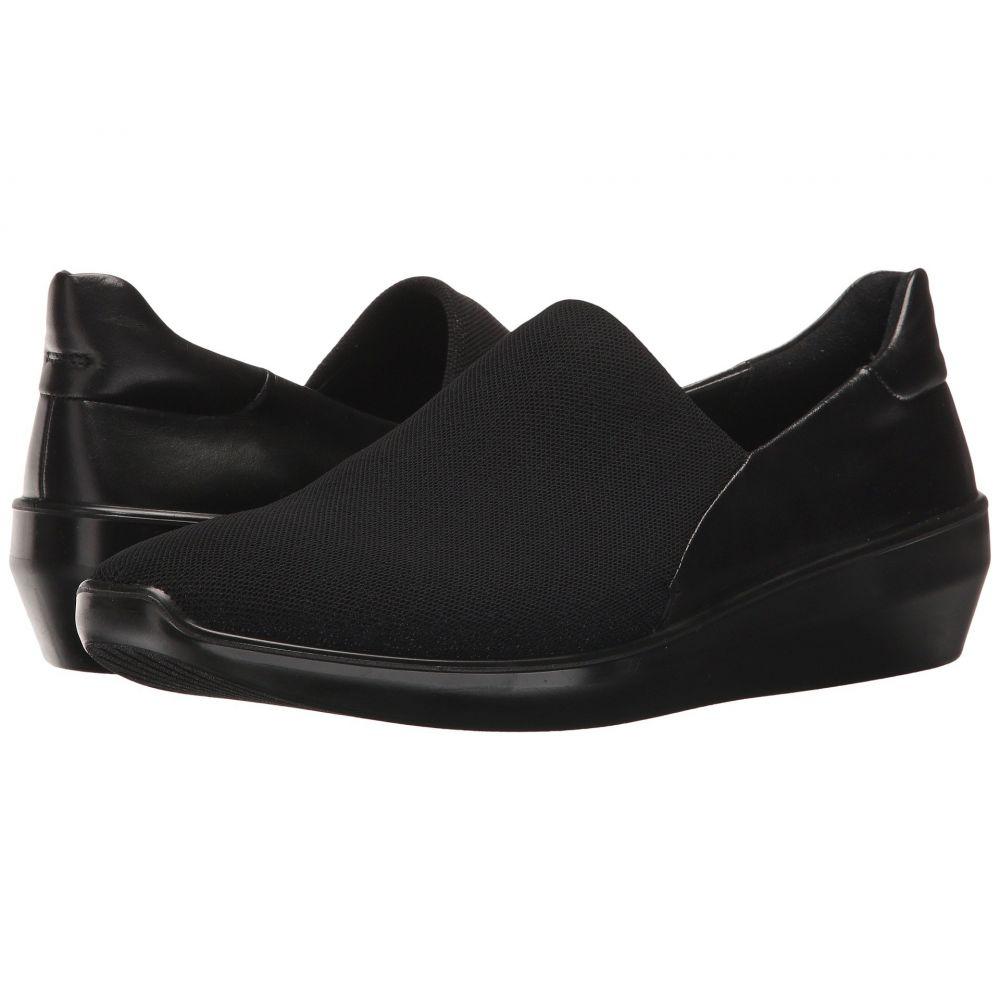 エコー ECCO レディース スリッポン・フラット シューズ・靴【Incise Urban Slip-On】Black/Black