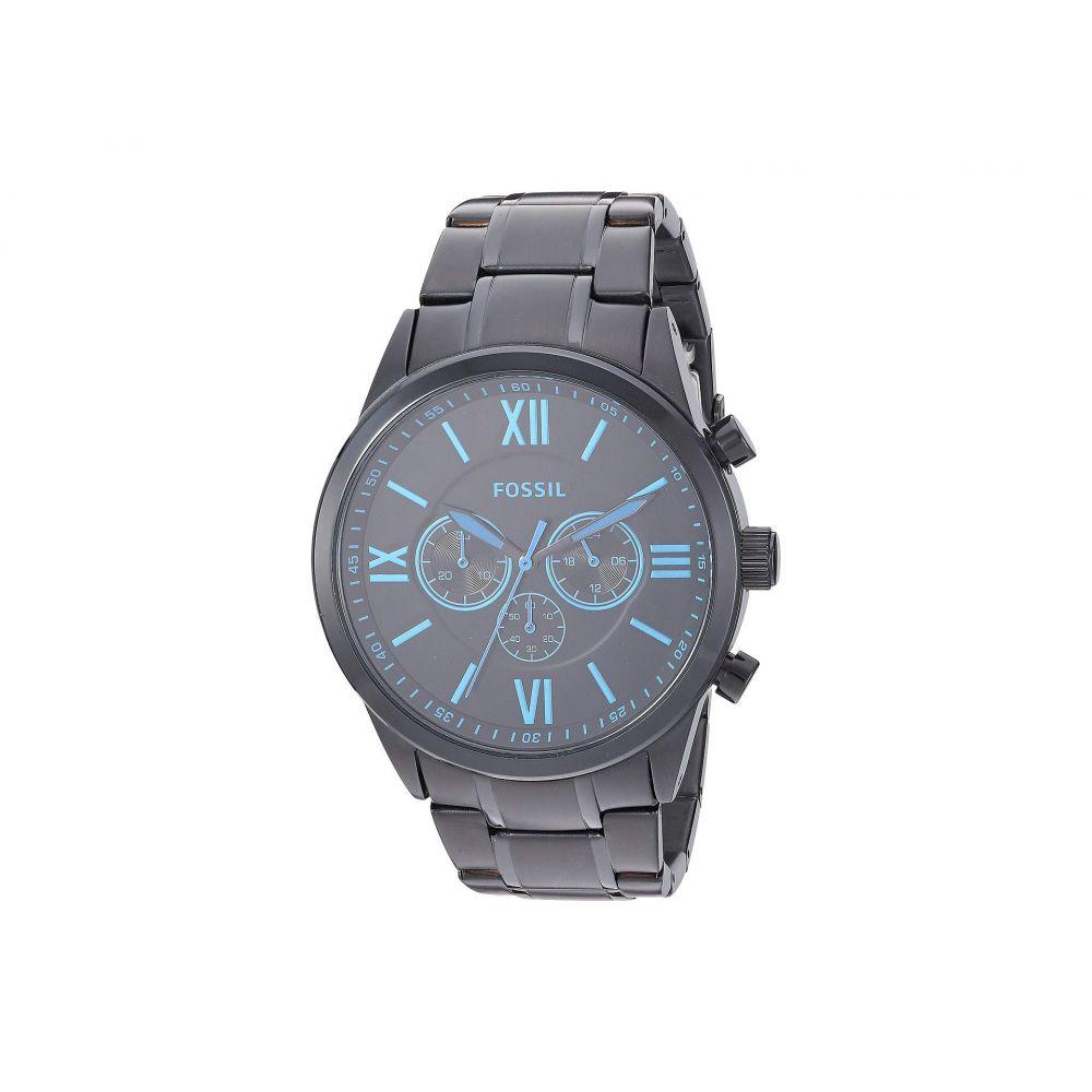 フォッシル Fossil メンズ 腕時計 クロノグラフ【Flynn Chronograph Stainless Steel Watch - BQ2260】Black