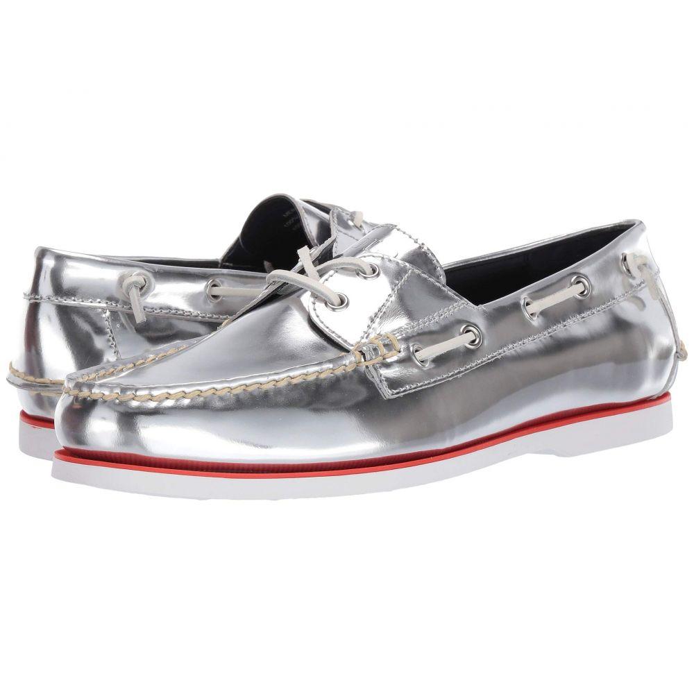ラルフ ローレン Polo Ralph Lauren メンズ デッキシューズ シューズ・靴【Merton】Silver Metallic Leather
