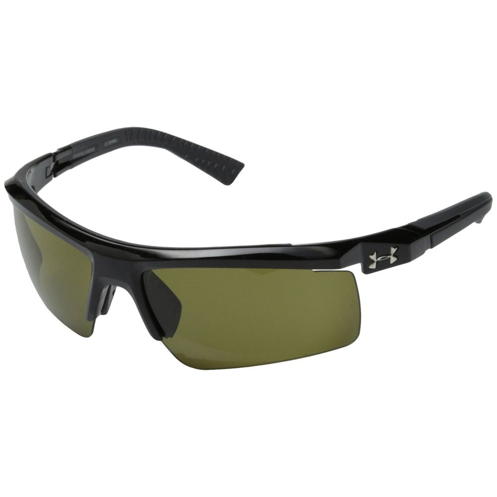 アンダーアーマー Under Armour メンズ メガネ・サングラス 【Core 2.0】Shiny Black/Charcoal Gray Frame/Game Day Lens