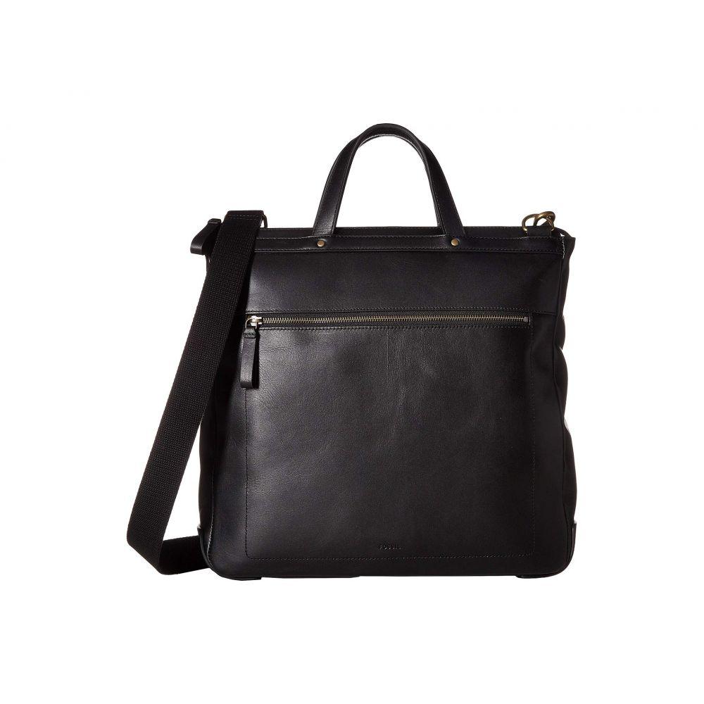 フォッシル Fossil メンズ ビジネスバッグ・ブリーフケース バッグ【Haskell North/South Workbag】Black