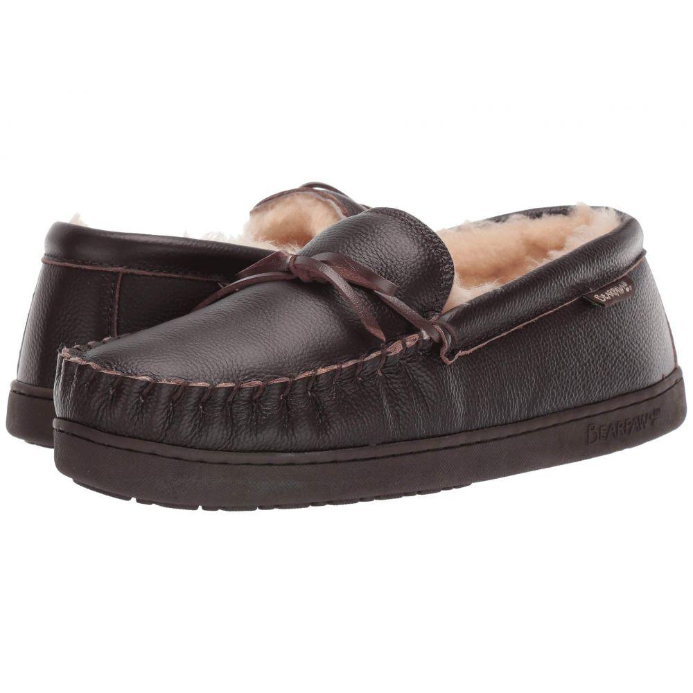 ベアパウ Bearpaw メンズ スリッパ シューズ・靴【Mach IV】Chocolate Leather