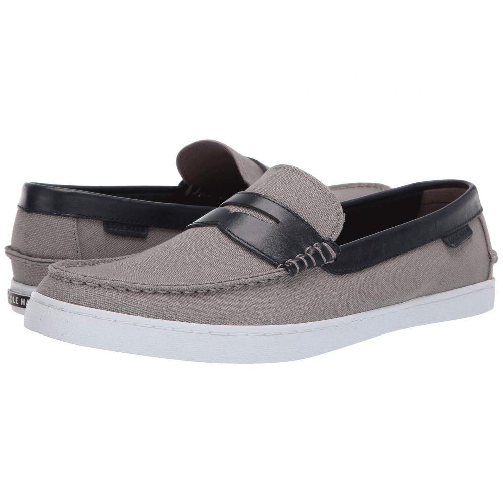 コールハーン Cole Haan メンズ ローファー シューズ・靴【Nantucket Loafer】Gray Canvas/Blue Leather