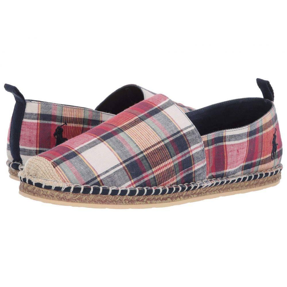 ラルフ ローレン Polo Ralph Lauren メンズ ローファー シューズ・靴【Barron】Multi Washed Madras