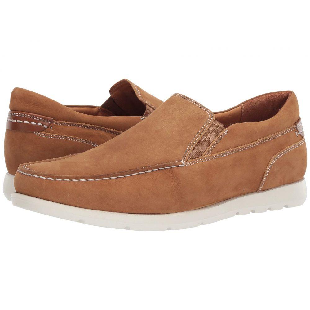 ジョンストン&マーフィー Johnston & Murphy メンズ ローファー シューズ・靴【Carlisle Venetian】Camel Tumbled Nubuck
