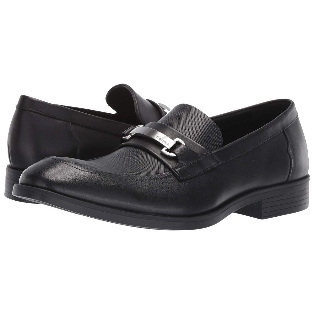 カルバンクライン Calvin Klein メンズ ローファー シューズ・靴【Craig】Black Dress Calf/Small Grid Emboss