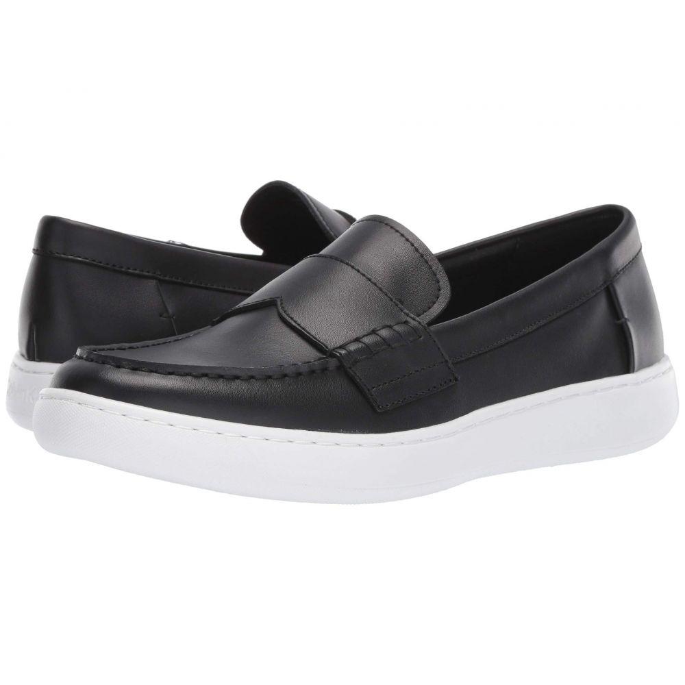 カルバンクライン Calvin Klein メンズ ローファー シューズ・靴【Fang】Black Nappa Smooth Calf