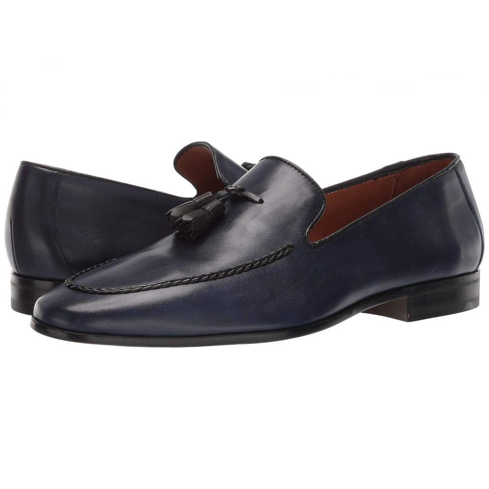 ドナルド ジェイ プリナー Donald J Pliner メンズ ローファー シューズ・靴【Aaron】Navy