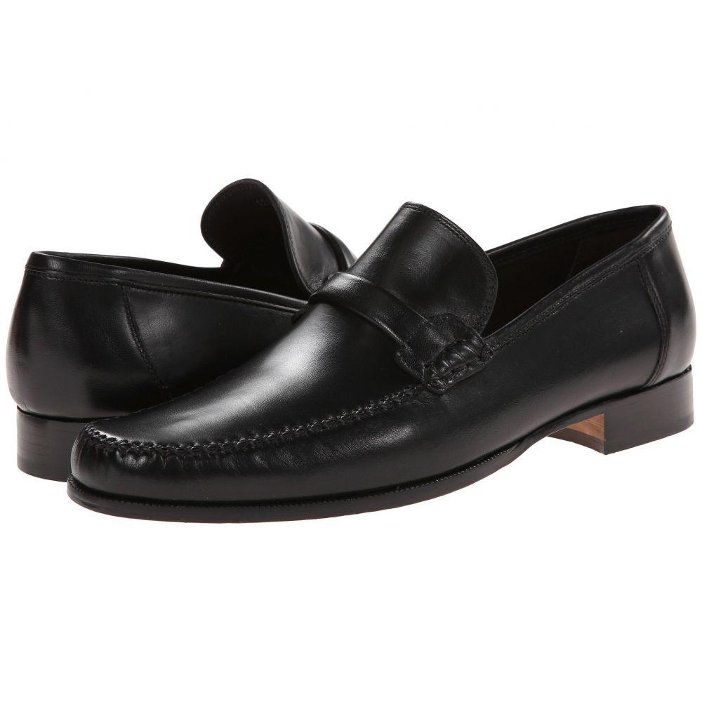 ブルーノ マリ Bruno Magli メンズ ローファー シューズ・靴【Porro】Black Nappa Leather