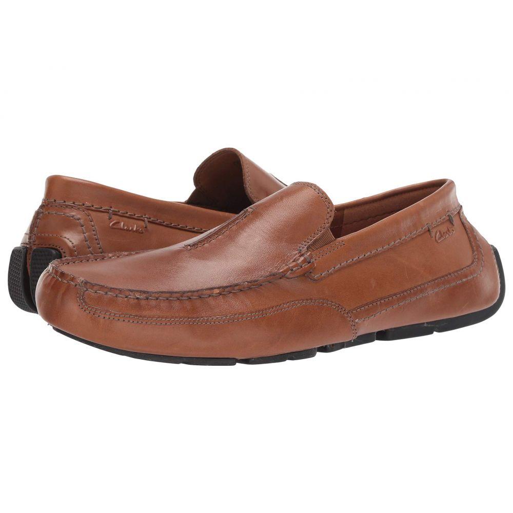 クラークス Clarks メンズ ローファー シューズ・靴【Ashmont Race】Tan Smooth Leather