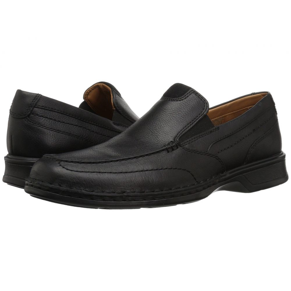 クラークス Clarks メンズ ローファー シューズ・靴【Northam Step】Black Oily Leather