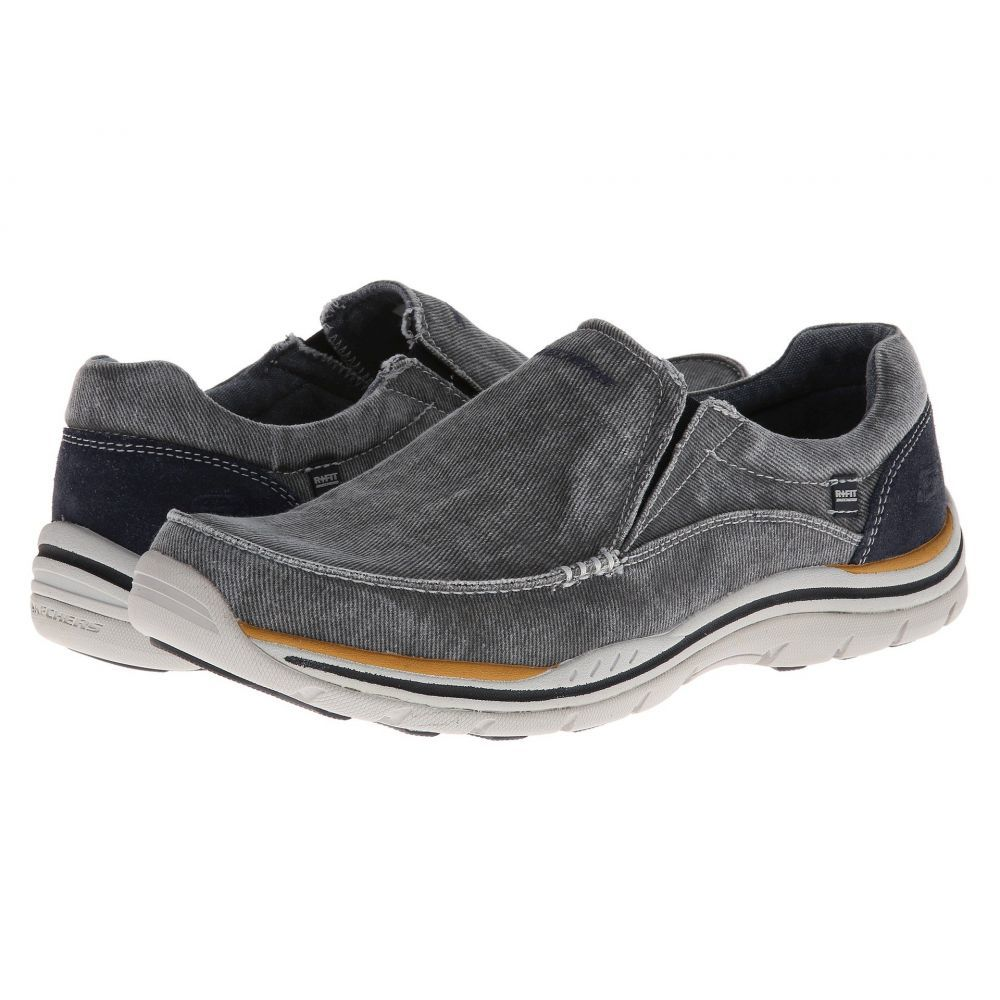 スケッチャーズ SKECHERS メンズ ローファー シューズ・靴【Expected - Avillo】Blue
