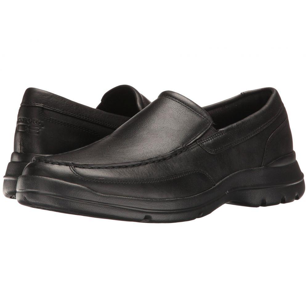 ロックポート Rockport メンズ スリッポン・フラット シューズ・靴【Junction Point Slip-On】Black