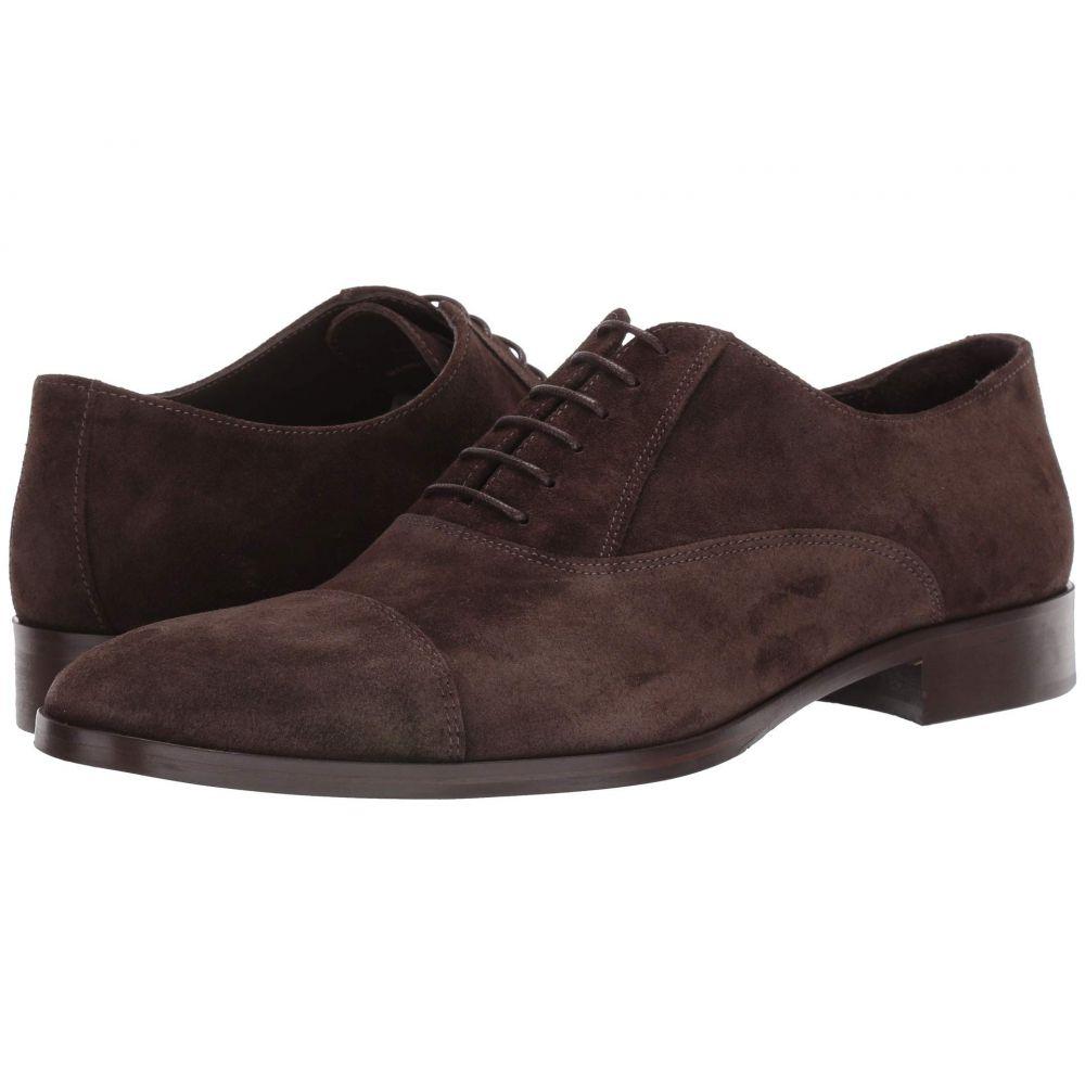 シューズ・靴【Caymen】Dark Magli ブルーノ メンズ マリ Brown 革靴・ビジネスシューズ Suede Bruno