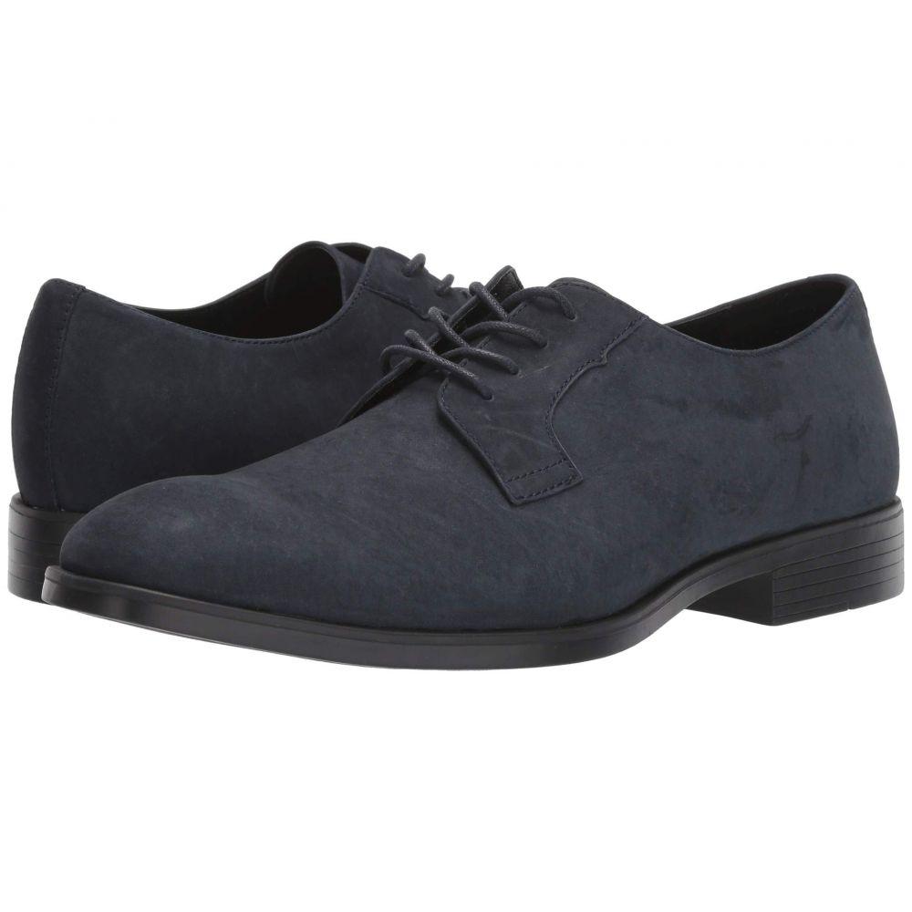 カルバンクライン Calvin Klein メンズ 革靴・ビジネスシューズ シューズ・靴【Covin】Dark Navy Nubuck