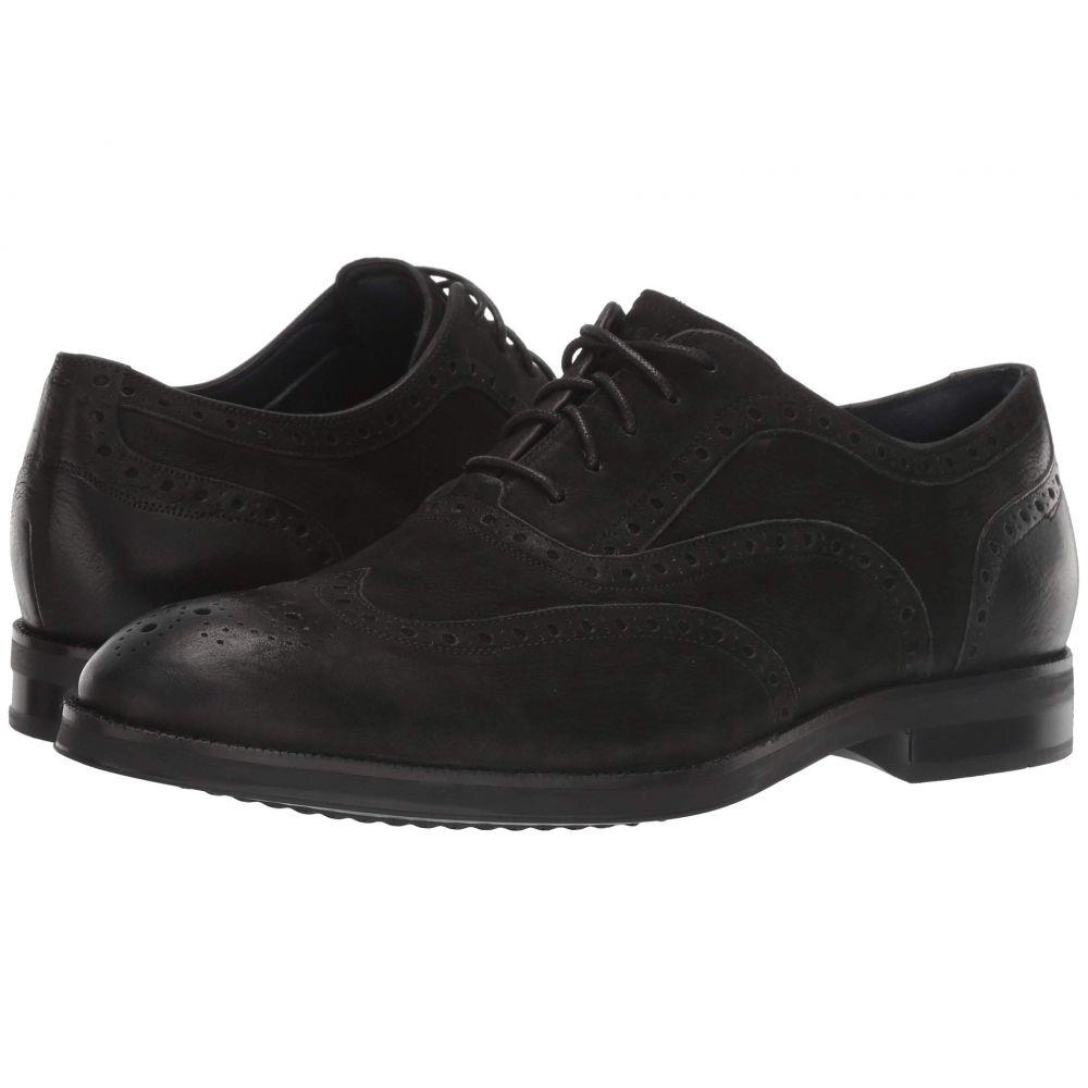 コールハーン Cole Haan メンズ 革靴・ビジネスシューズ ウイングチップ シューズ・靴【Lewis Grand 2.0 Wing Tip Oxford】Black