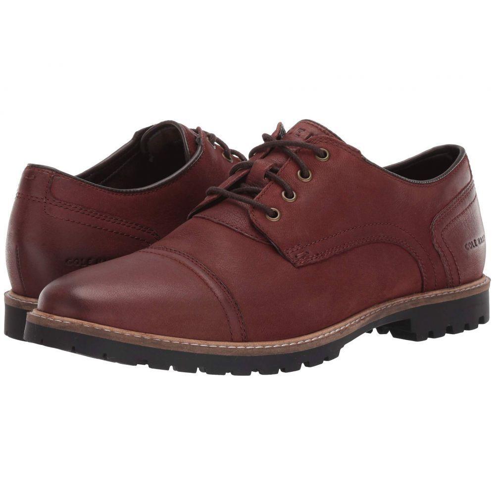 コールハーン Cole Haan メンズ 革靴・ビジネスシューズ シューズ・靴【Nathan Cap Oxford】Chestnut