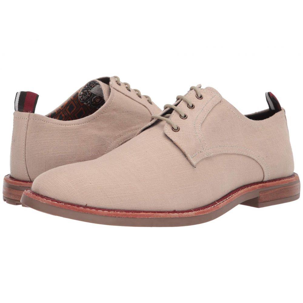 ベンシャーマン Ben Sherman メンズ 革靴・ビジネスシューズ シューズ・靴【Birk Plain Toe】Natural Linen