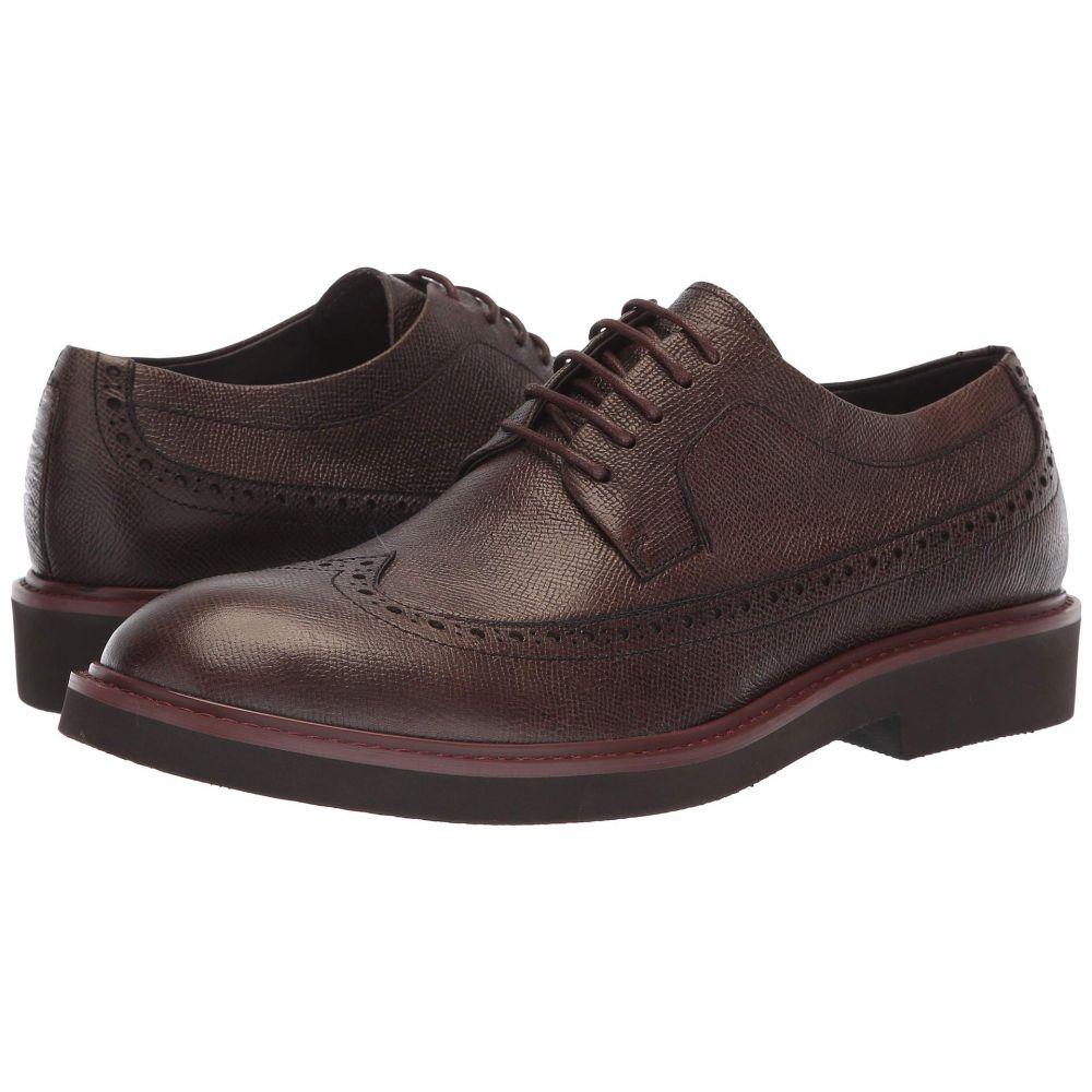 ドナルド ジェイ プリナー Donald J Pliner メンズ 革靴・ビジネスシューズ シューズ・靴【Gareth】Expresso Grain Calf