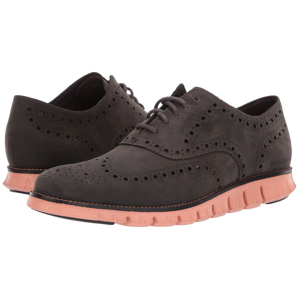 コールハーン Cole Haan メンズ 革靴・ビジネスシューズ ウイングチップ シューズ・靴【Zerogrand Wingtip Oxford Leather】Magnet Leather/Black/Canyon Sunset