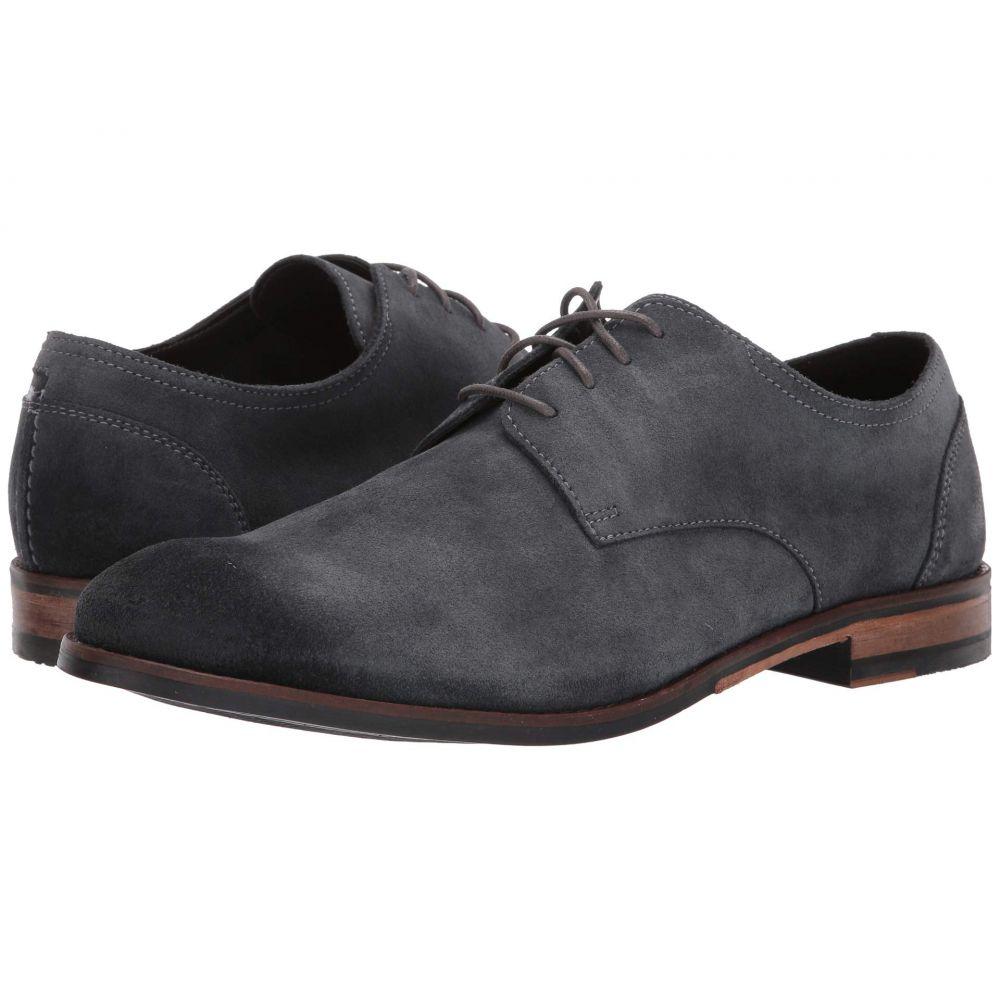 クラークス Clarks メンズ 革靴・ビジネスシューズ シューズ・靴【Flow Plain】Dark Grey Suede