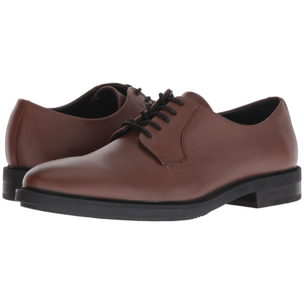 カルバンクライン Calvin Klein メンズ 革靴・ビジネスシューズ シューズ・靴【Carl】New Tan Smooth Calf Leather