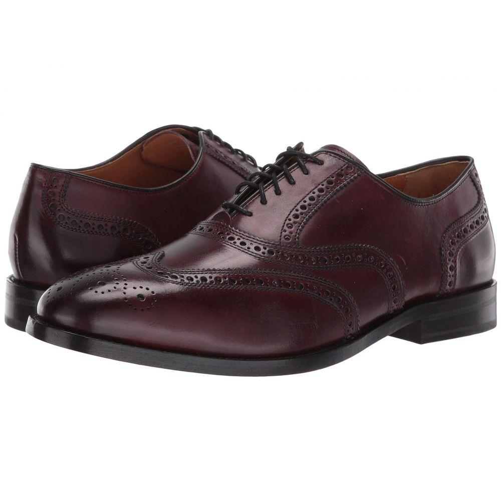 コールハーン Cole Haan メンズ 革靴・ビジネスシューズ メダリオン ウイングチップ シューズ・靴【Kneeland Wing Tip Brogue Oxford】Oxblood