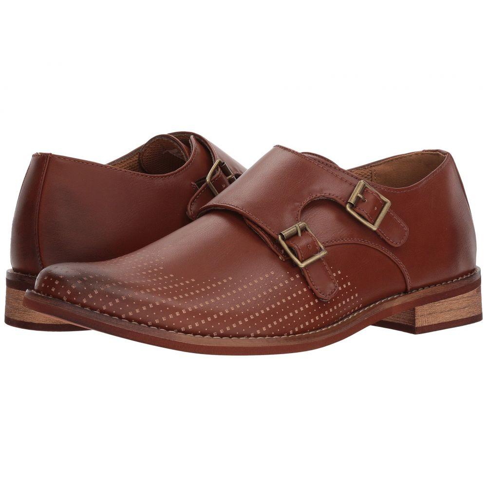 ディール スタッグス Deer Stags メンズ 革靴・ビジネスシューズ モンクストラップ シューズ・靴【Cyprus Perf Monk Strap】Dark Luggage Simulated Leather