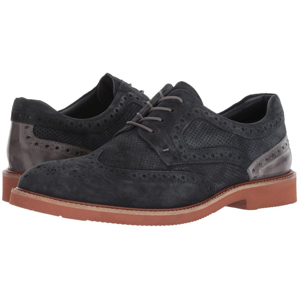 ケネス コール Kenneth Cole Unlisted メンズ 革靴・ビジネスシューズ レースアップ シューズ・靴【Shaw Lace-Up】Navy