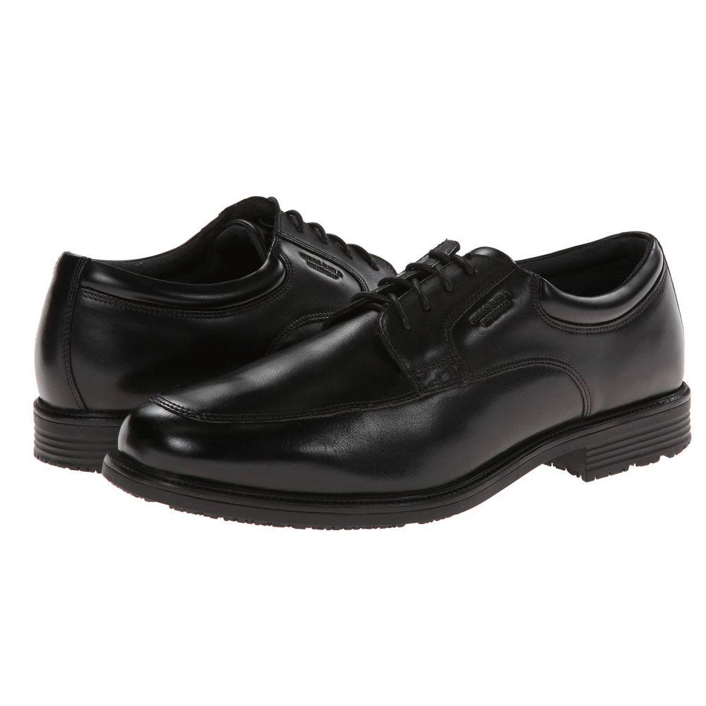 ロックポート Rockport メンズ 革靴・ビジネスシューズ シューズ・靴【Lead The Pack Apron Toe】Black WP Leather