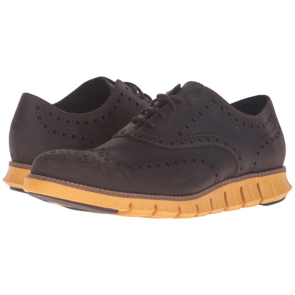 コールハーン Cole Haan メンズ 革靴・ビジネスシューズ シューズ・靴【Zerogrand Wing Oxford】Java Leather/Golden Yellow