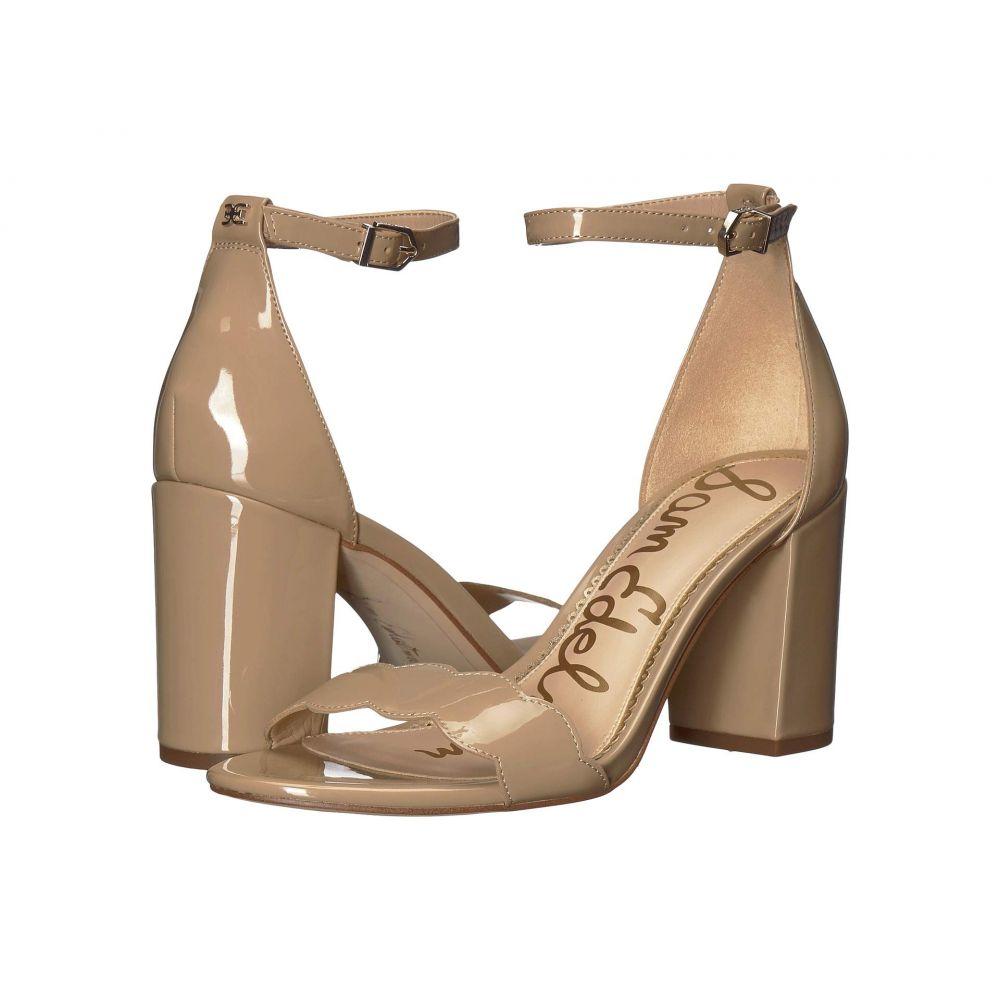 サム エデルマン Sam Edelman レディース サンダル・ミュール アンクルストラップ シューズ・靴【Odila Ankle Strap Sandal Heel】Classic Nude Patent