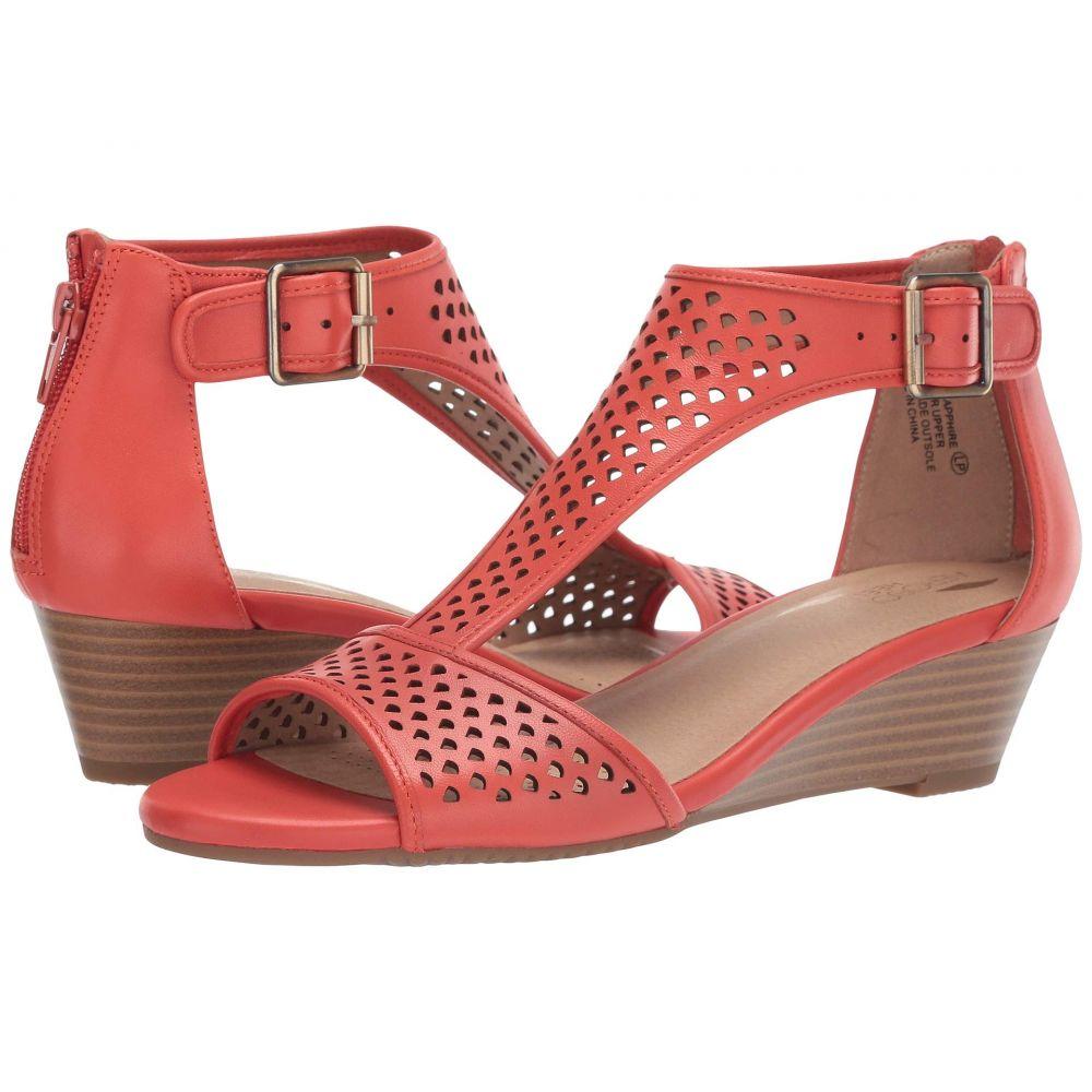 エアロソールズ Aerosoles レディース サンダル・ミュール シューズ・靴【Sapphire】Orange Leather