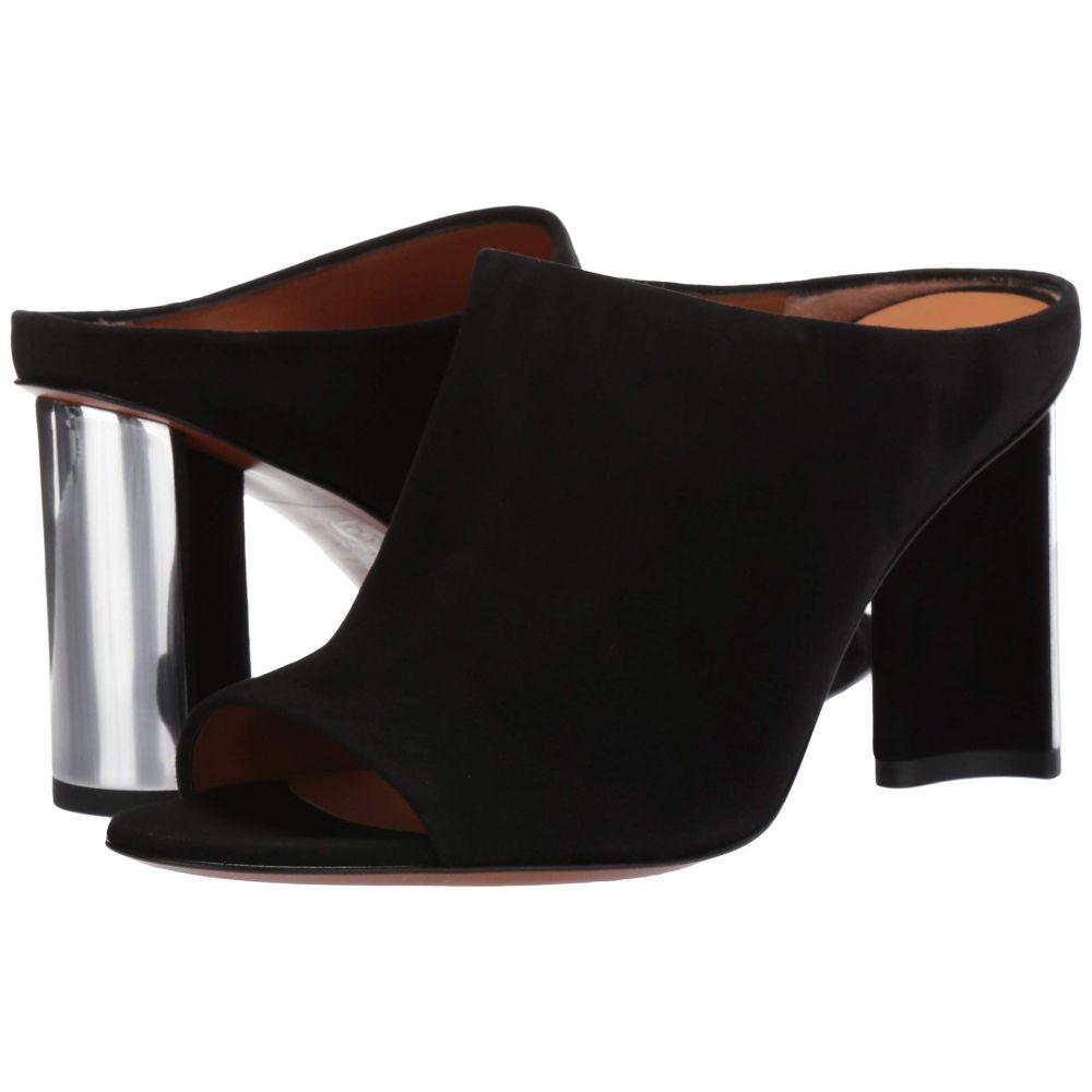 ロベール クレジュリー Clergerie レディース サンダル・ミュール シューズ・靴【Angel】Black Suede