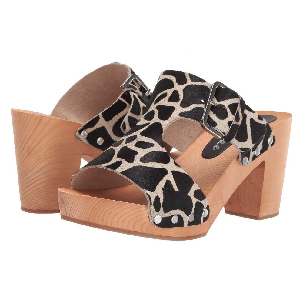 マチス Matisse レディース サンダル・ミュール シューズ・靴【Cherri Wooden Heeled Sandal】Giraffe