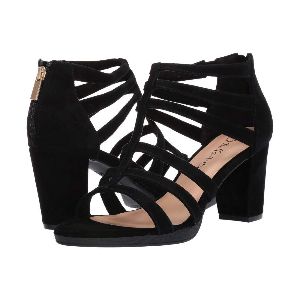 ベラヴィータ Bella-Vita レディース サンダル・ミュール シューズ・靴【Leah】Black Suede Leather