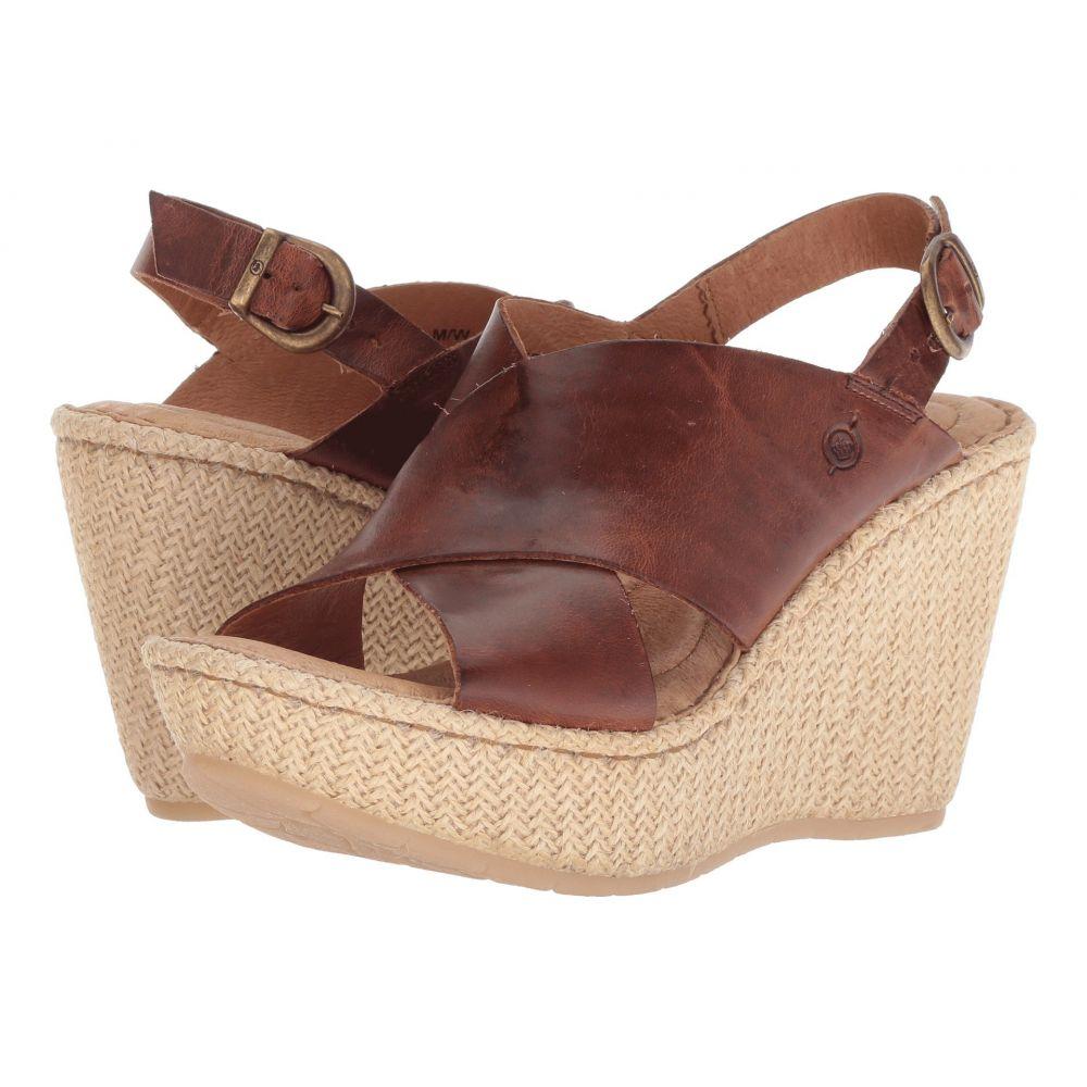 ボーン Born レディース サンダル・ミュール シューズ・靴【Emmy II】Brown Full Grain Leather