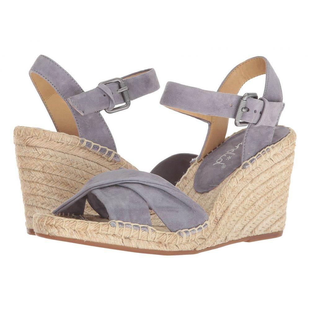 スプレンディッド Splendid レディース サンダル・ミュール シューズ・靴【Fairfax】Steel Grey Suede