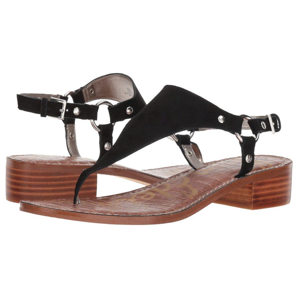 サム エデルマン Sam Edelman レディース サンダル・ミュール シューズ・靴【Jude】Black Suede Leather
