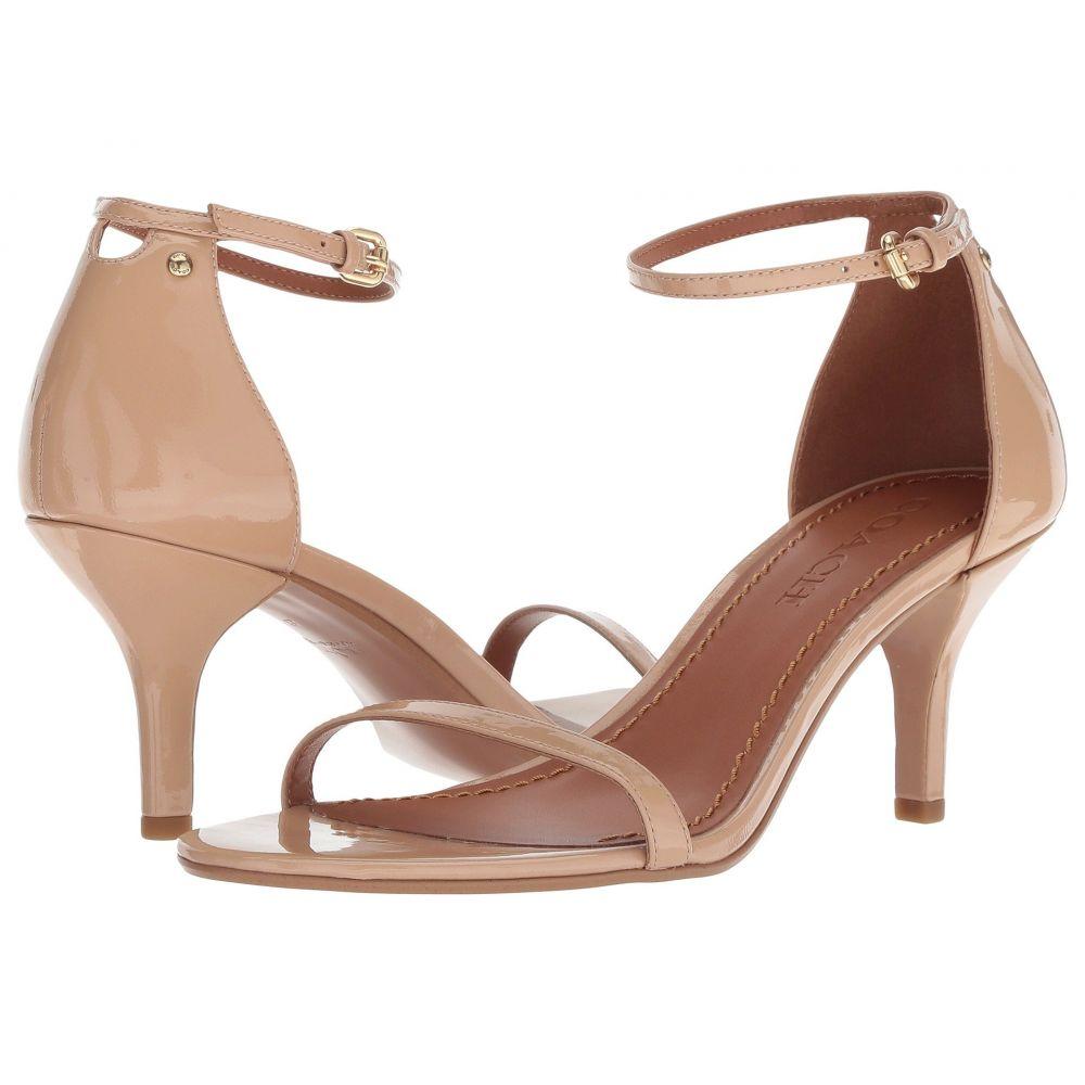 コーチ COACH レディース サンダル・ミュール シューズ・靴【Heeled Sandal】Beechwood Patent Leather