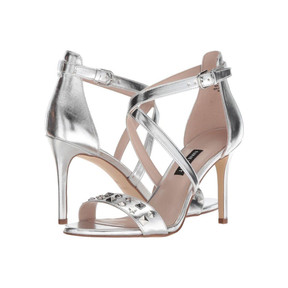 ナインウェスト Nine West レディース サンダル・ミュール シューズ・靴【Maziany】Silver Synthetic