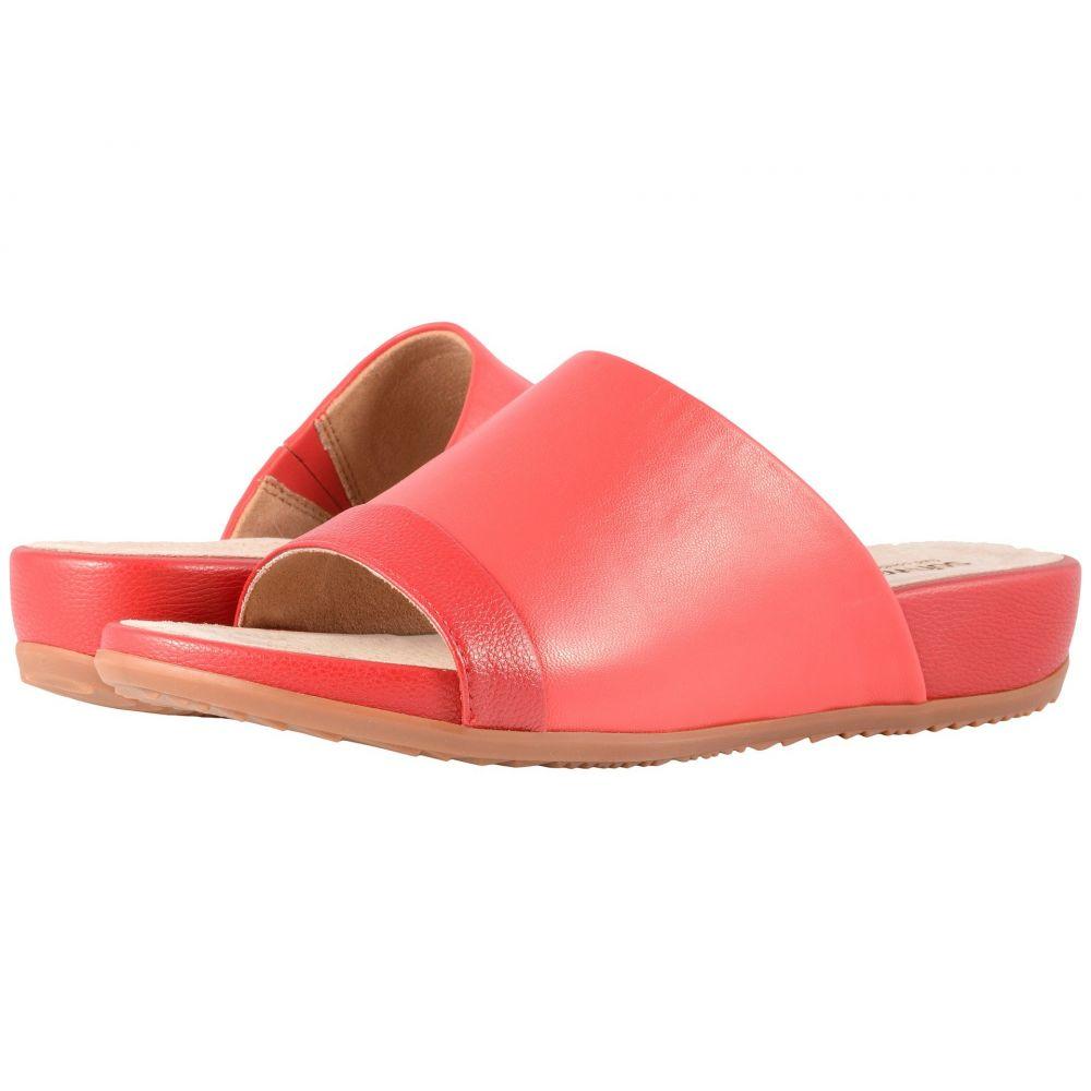 ソフトウォーク SoftWalk レディース サンダル・ミュール シューズ・靴【Del Mar】Red/Dark Red Soft Leather