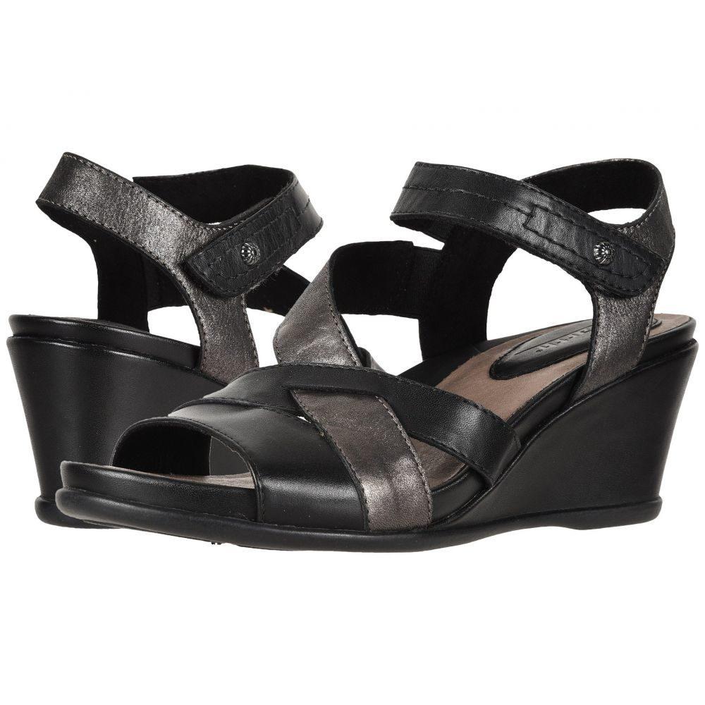カルソーアースシューズ Earth レディース サンダル・ミュール シューズ・靴【Thistle】Black Multi Soft Burnished Leather