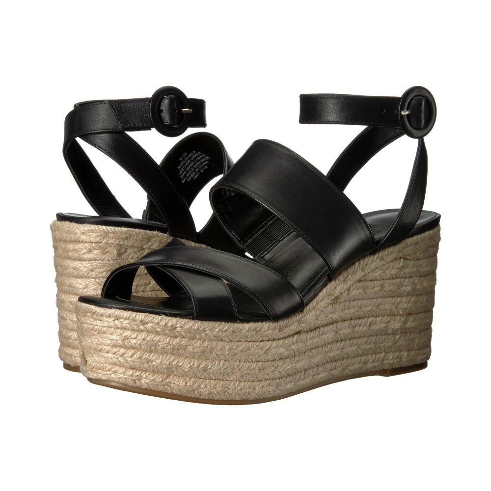 ナインウェスト Nine West レディース エスパドリーユ ウェッジソール サンダル・ミュール シューズ・靴【Kushala Espadrille Wedge Sandal】Black Leather