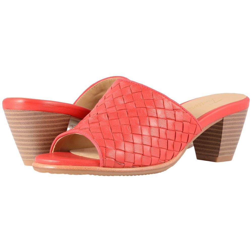 トロッターズ Trotters レディース サンダル・ミュール シューズ・靴【Corsa】Red Woven Leather