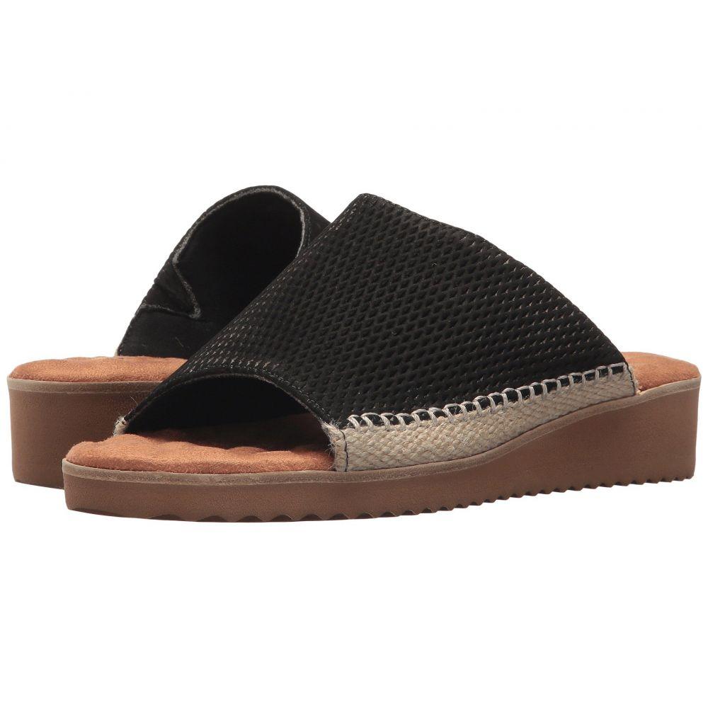 ウォーキング クレードル Walking Cradles レディース サンダル・ミュール シューズ・靴【Henna】Black Stamped Nubuck