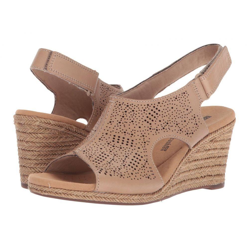 クラークス Clarks レディース サンダル・ミュール シューズ・靴【Lafley Rosen】Sand Leather