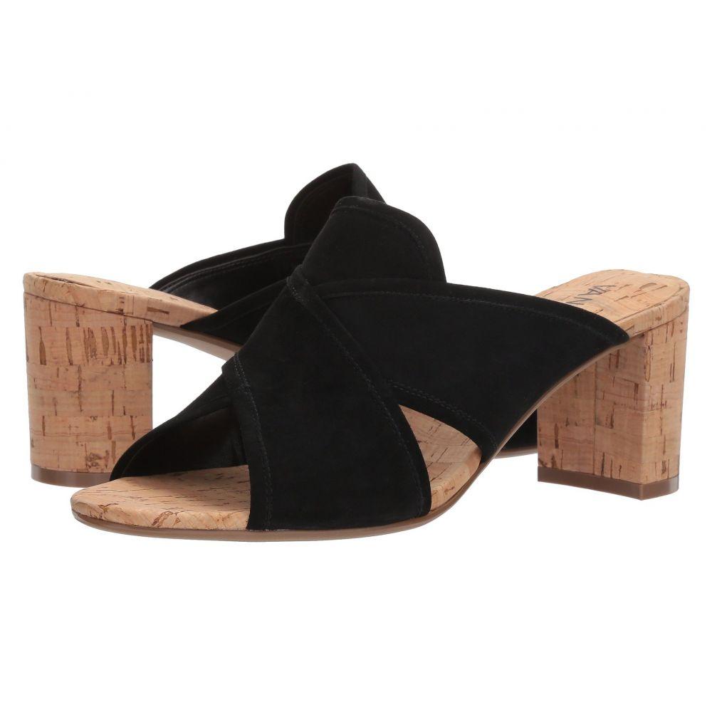 ヴァネリ Vaneli レディース サンダル・ミュール シューズ・靴【Merana】Black Suede
