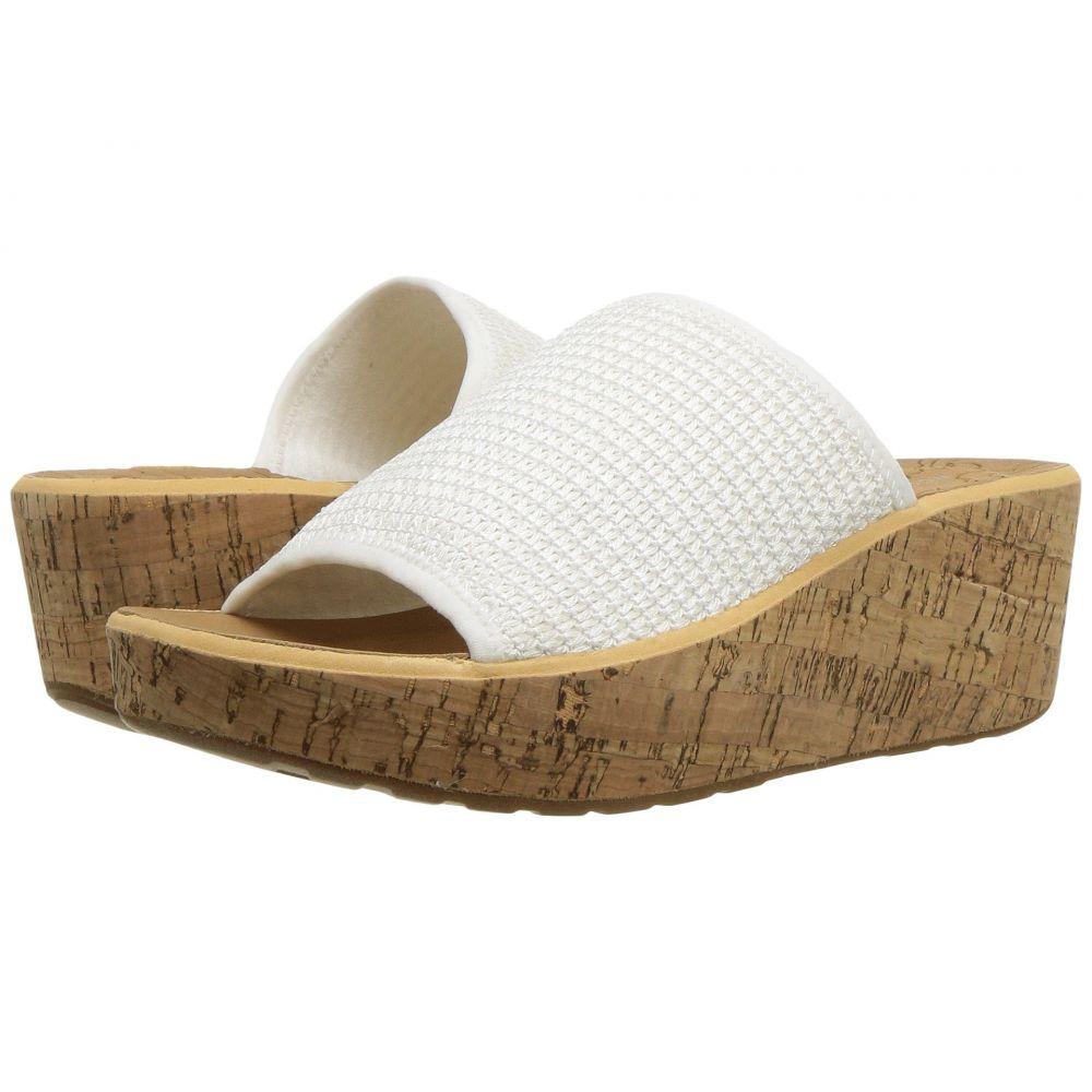 ロックポート Rockport レディース サンダル・ミュール シューズ・靴【Lanea Woven Slide】White Woven
